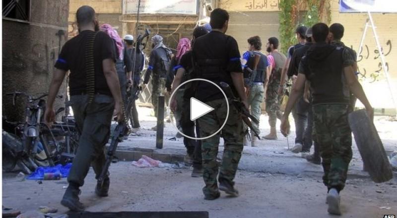 قصة المسلحين في مخيم اليرموك