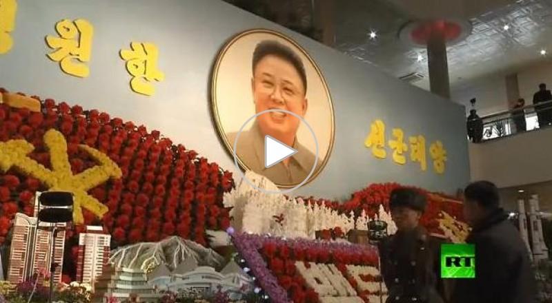 افتتاح مهرجان الزهور في كوريا الشمالية