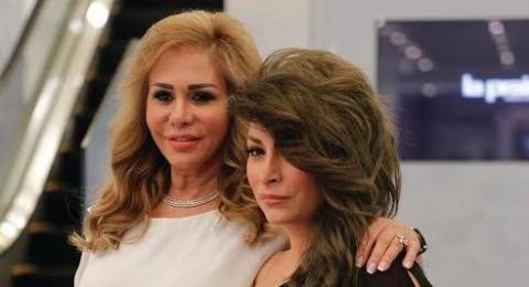 مها المصري تحتفل مع ابنتها ديما بياعة