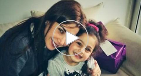 """نانسي عجرم تزور أصغر نجمات فيديو كليب """"يا بنات"""" بعد خطورة وضعها الصحي"""