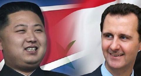 رئيس كوريا الشمالية يبرق الأسد برسالة هامة، فماذا جاء فيها؟