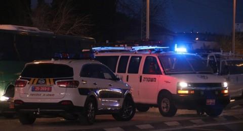 حادث طرقات على طريق بيت جن واصابات متفاوته