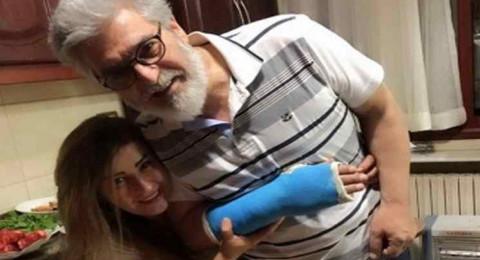 إصابة عباس النوري بكسر في يده