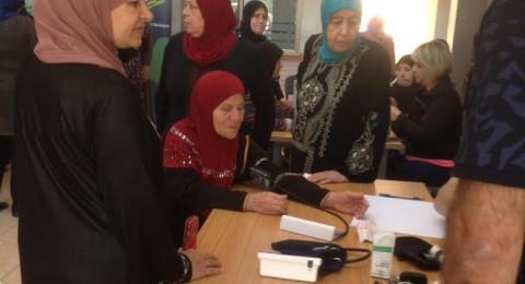 النادي النسائي سنابل جليلية وكيان ينظمان يوم الصحة المميز للنساء