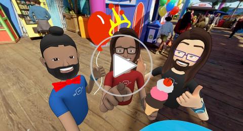 فيسبوك تعلن عن تقنية الواقع الافتراضي للتواصل بالعقول Facebook Spaces