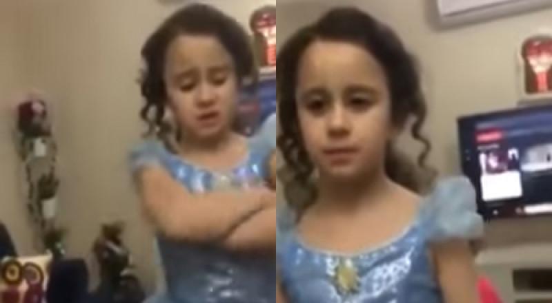 طفلة سورية لوالدتها : أنا بتربى بالحب مو بالخناق