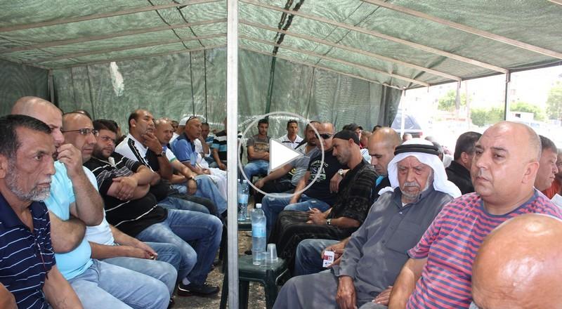 عقد راية الصلح بين عائلتي ابو عليوة والدسوقي من اللد
