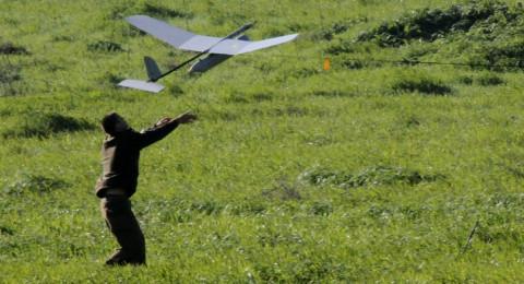 تحطم طائرة استطلاع إسرائيلية في نابلس