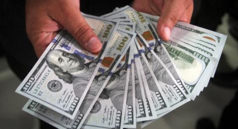 أسعار صرف الدولار لليوم الاثنين مقابل الشيكل