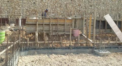 استمرار أعمال التطوير والبناء في الشبلي أم الغنم