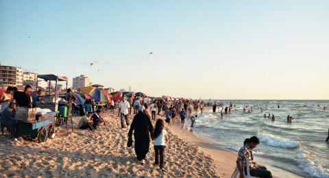 مياه شاطئ غزة ملوثة بنسبة 73%!