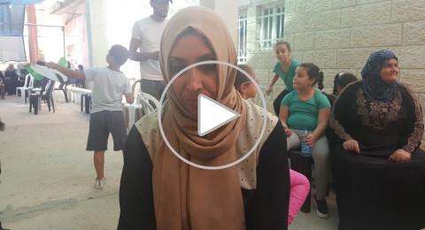والدة الشهيد محمد ابو غنام لـ بكرا : نريد دخول الاقصى بكرامة ومرفوعي الرأس