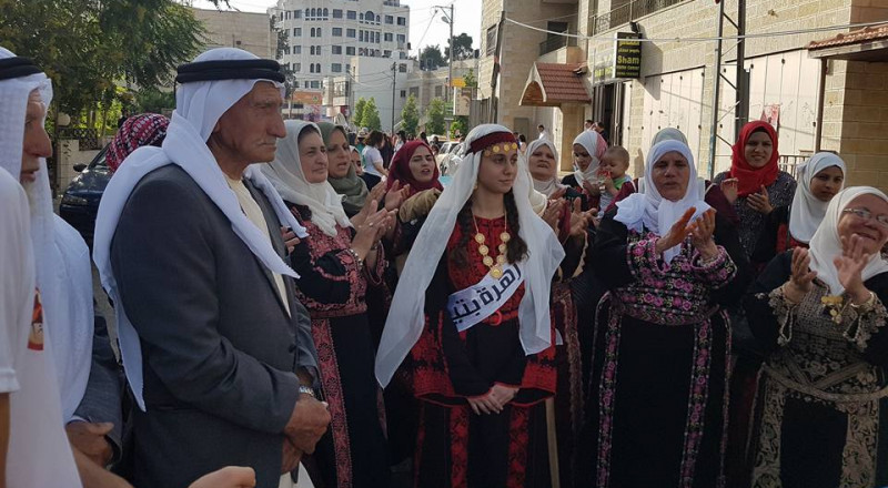 جمعية انماء تشارك في مهرجان التراث التاسع في بيرزيت