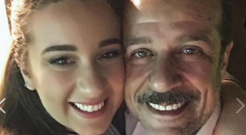 ابنة شريف منير تعلن ارتباطها بالفنان محمود حجازي