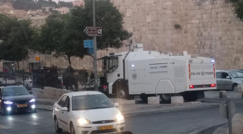اغلاق البلدة القديمة في القدس