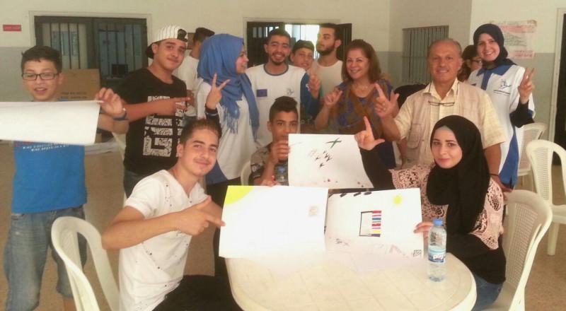 منظمة السلام الدولية ومجموعة من الشباب في الشرق الاوسط ينظمان مشروع
