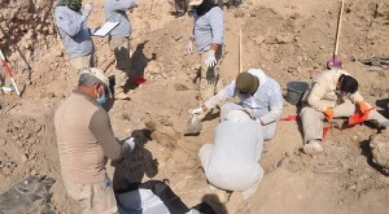 صور: اكتشاف مقبرة جديدة لشهداء مجزرة سبايكر في العراق!