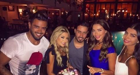 بالصور- ليليا الأطرش تحتفل بعيد ميلادها على طريقة