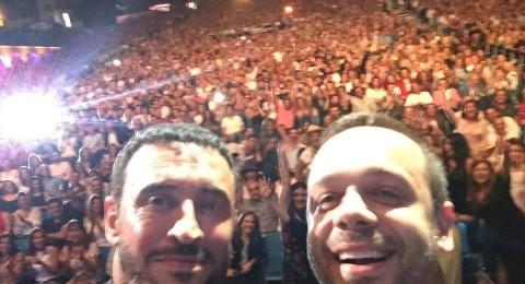 مهرجان بيت الدين: كاظم الساهر يقطع أغنيته من أجل