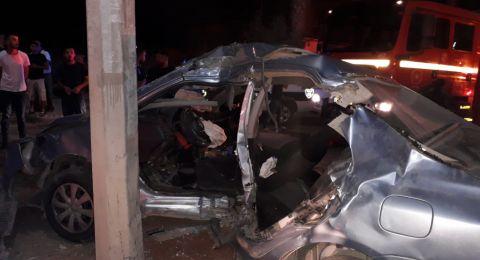 مصرع شخص وإصابة آخر بحادث طرق في اللقية بالنقب