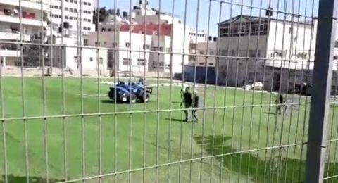 إسرائيل تمنع ترميم ملعب