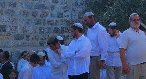 المستوطنون يستأنفون اقتحام المسجد الأقصى