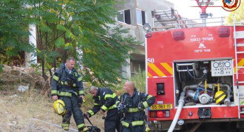 حيفا: حريق بشقة سكنية في الحليصة