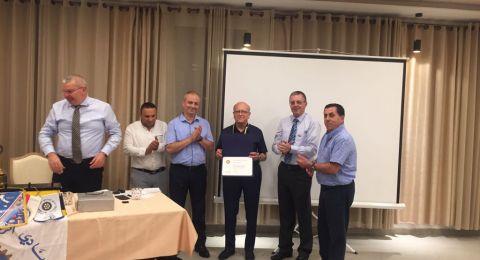 نادي روتاري الناصرة يستضيف النائب الدكتور يوسف جبارين