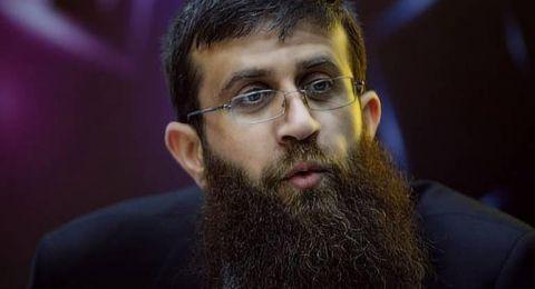 الاسير خضر عدنان يواصل إضرابه عن الطعام لليوم ال17 على التوالي