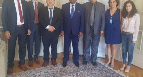 وفد المتابعة يواصل لقاءاته في جنيف مع ممثلي هيئات الأمم المتحدة