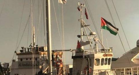 إصابات عقب مهاجمة قوات الاحتلال للمسير البحري