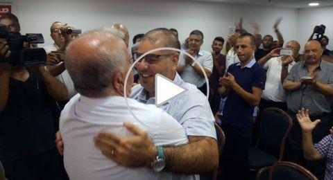الناصرة: مرشح الجبهة مصعب دخان ينضم إلى تحالف العفيفي
