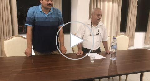 قائمة العضوية ف. ل تطلق حملتها الانتخابية برئاسة الأستاذ جهاد أبو العسل