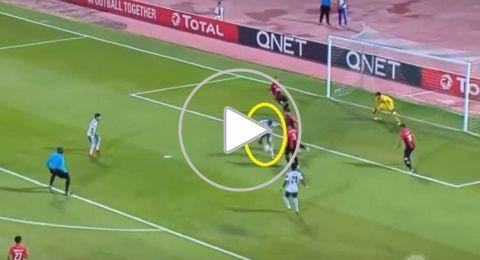 شاهد.. هدف رائع بكعب مهاجم منتخب فلسطين