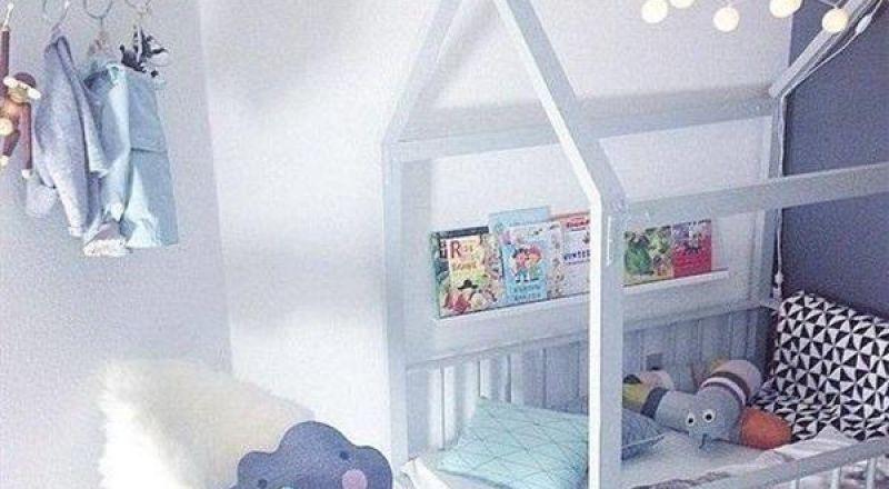 تصميمات عصرية لغرف نوم أطفال أرضي