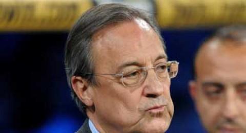 رئيس ريال مدريد يفقد أعصابه في مدينة ملقة !!