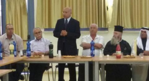 لجنة مكافحة العنف تعقد اجتماعا هاما في المركز الجماهيري الجديدة - المكر بمشاركة المجلس المحلي