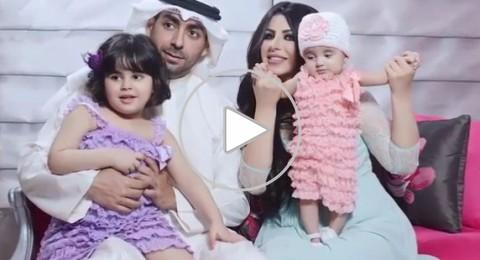 بالفيديو: لماذا منع زوج حليمة بولند من نشر صورة إبنتيها