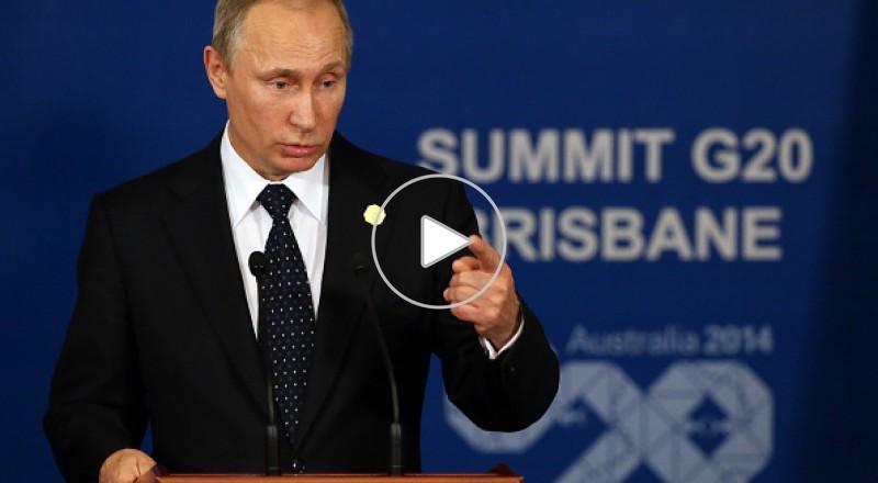 بوتين يغادر قمة مجموعة العشرين قبل نهايتها