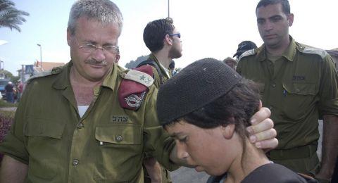 جنرال إسرائيلي يرفض عقوبات واشنطن ضده