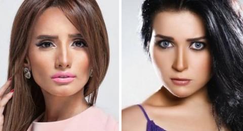 زينة ترد على تهنئة مي عز الدين بعد كسبها قضية نسب التوأم