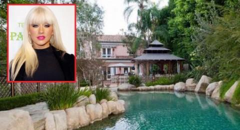 كريستينا أغيليرا تبيع قصرها بـ13.5 مليون دولار.