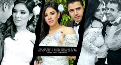 مروة نصر تحتفل بزواجها للمرة الثانية على طريقتها الخاصة!