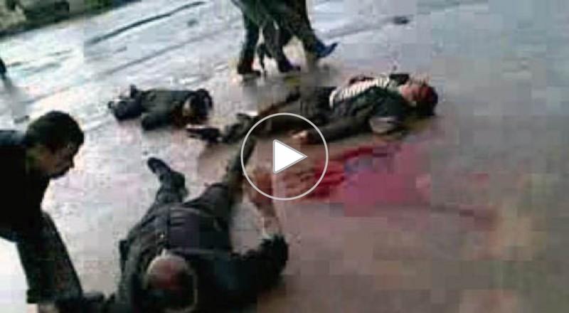 حصري : فيديو من سوريا من الاردنيون الهاربون منها