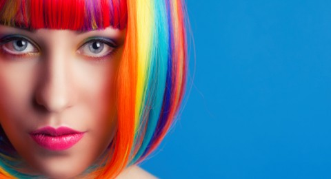نصائح جمالية لاستخدام طباشير الشعر الملون