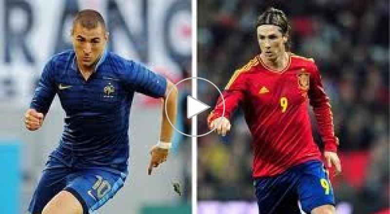 اسبانيا VS فرنسا