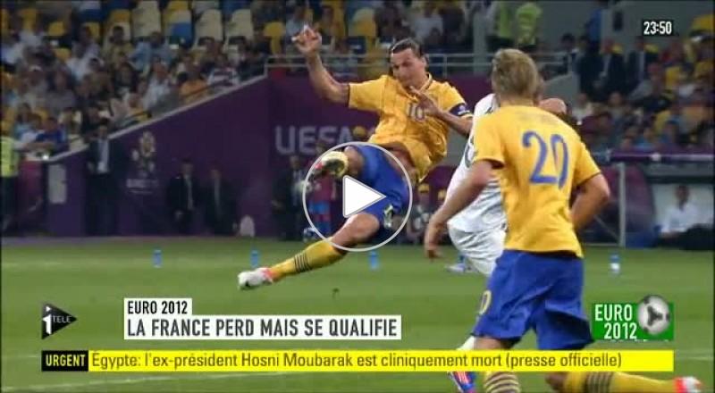 اهداف مباراة فرنسا - السويد