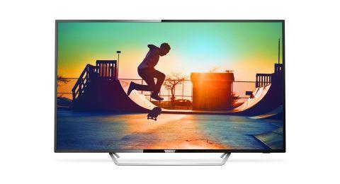 لمشاهدة مباريات كأس العالم فيليبس تعرض تشكيلة من اجهزة التلفاز جهاز Smart TV وجهاز 65 انش