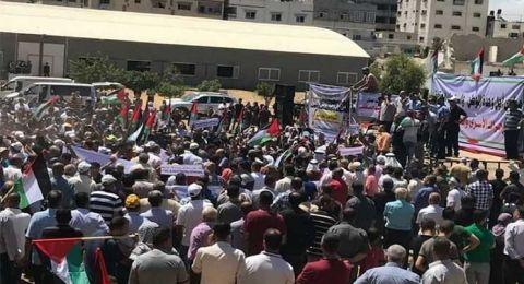 لجنة المتابعة: قمع المتظاهرين في غزة والضفة مثير للغضب .. ولا يمكن للشعب أن يدفع ثمن الانقسام