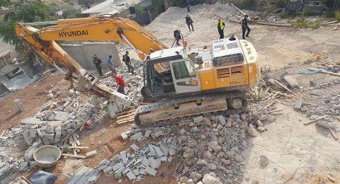 استمرار هدم المنازل في القدس